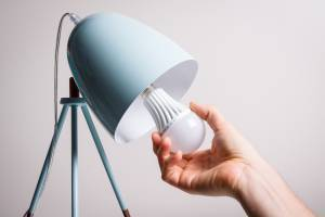 LED energy efficient bulb - Mighty Small Homes